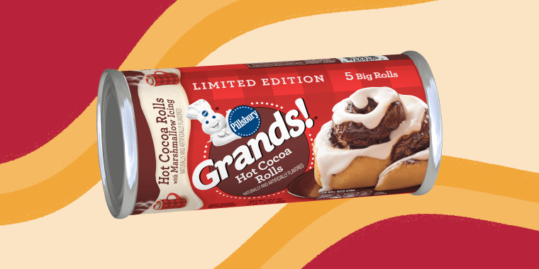 Why not just enjoy both the savory spice of a cinnamon roll and the sweet perfection of marshmallows and chocolate in one perfect bite?