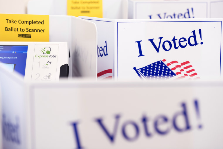 Image: Early Voting Underway In South Carolina