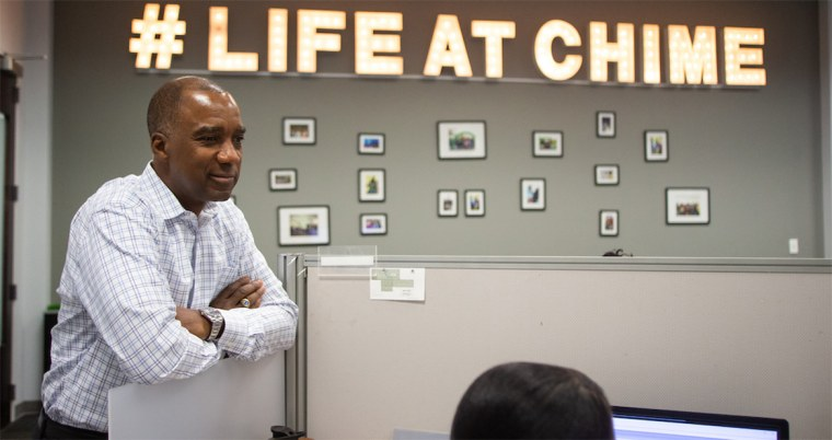 Mark Wilson, president and CEO of Chime Solutions, plans to hire 10,000 workers in 10 economically hard-hit cities with large Black populations.