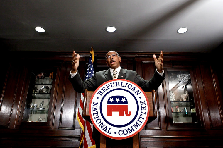 RNC Chair Michael Steele Addresses Yesterday's Election Results