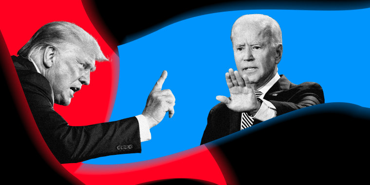 Image: President Donald Trump will debate Joe Biden on Thursday night.