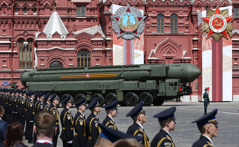 Image: Parade In Moscow To Celebrate 75th Anniversary Of Defeat Of Nazi Germany