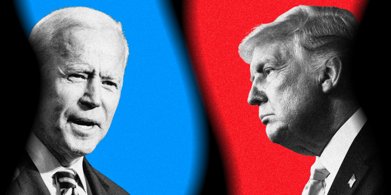 Image: JOe Biden and President Donald Trump