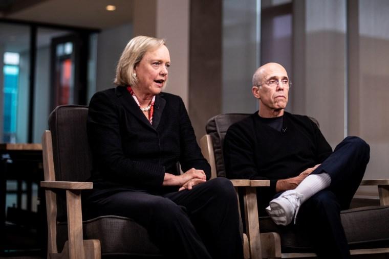 Quibi Founder Jeffrey Katzenberg And CEO Meg Whitman Interview