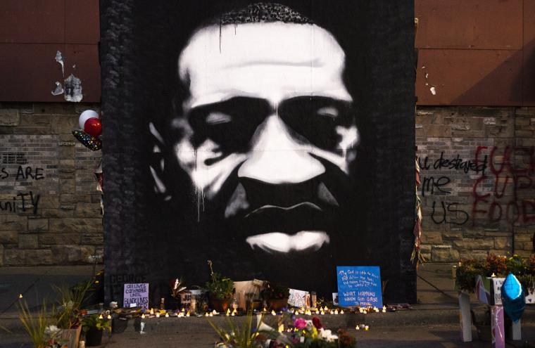 Image: Minneapolis Residents Mark Birthday Of George Floyd