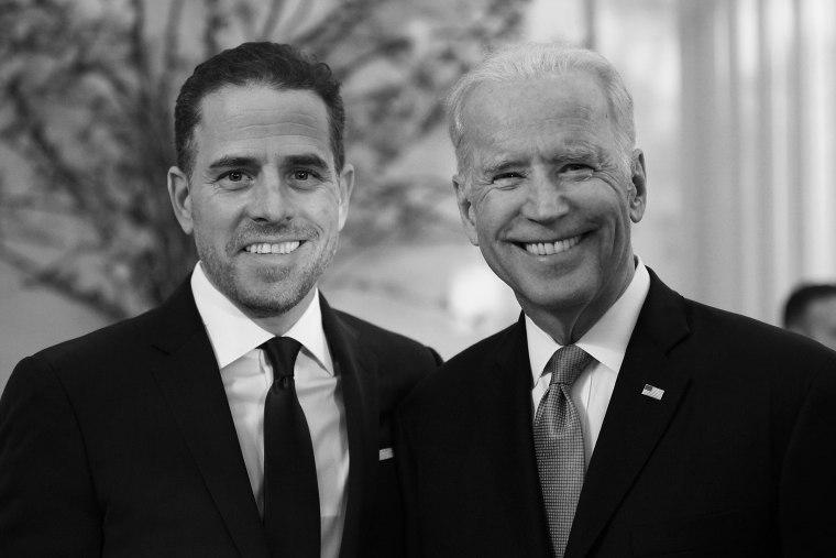 Photo of Hunter Biden and Joe Biden at the World Food Program USA's Annual McGovern-Dole Leadership Award Ceremony