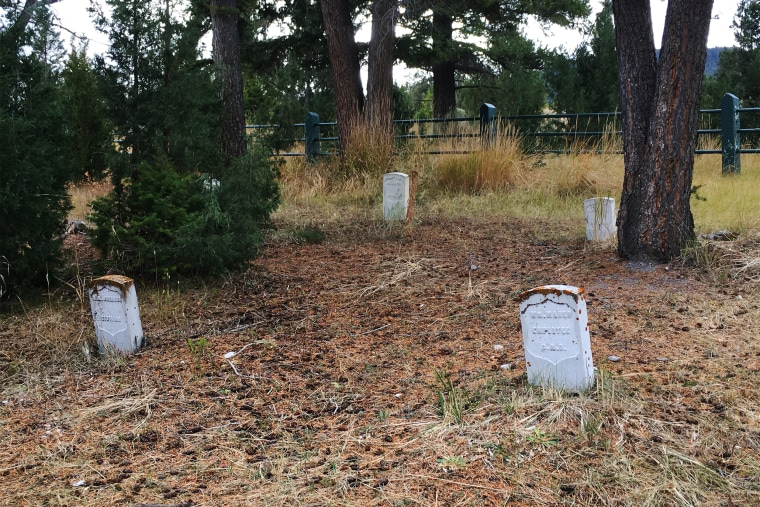 Image: Fort Yellowstone Cemetery