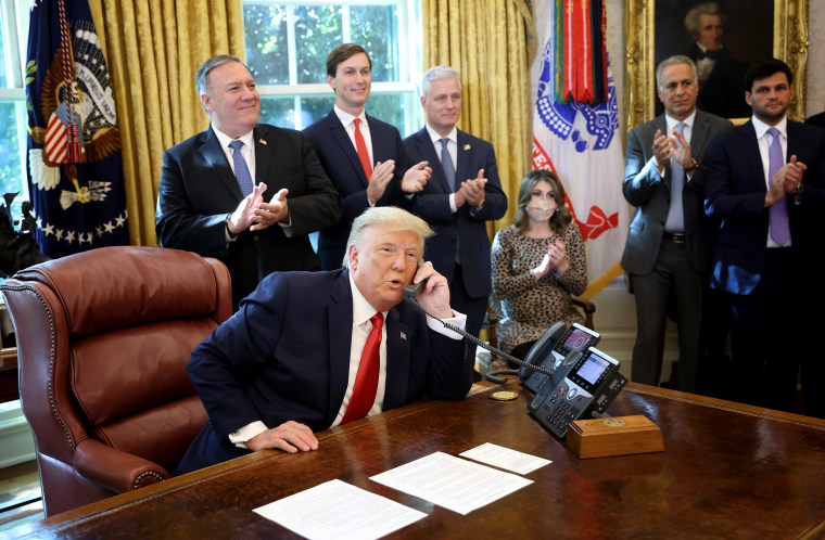 Image: President Trump Announces U.S. Brokered Sudan Israel Peace Agreement