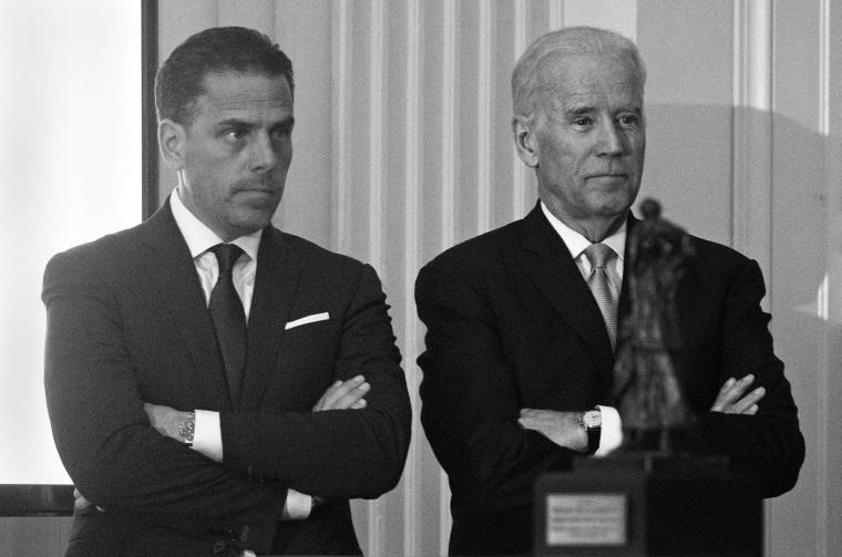 Image: Hunter Biden and Joe Biden