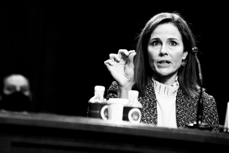 Image: Senate Holds Confirmation Hearing For Amy Coney Barrett To Be Supreme Court Justice