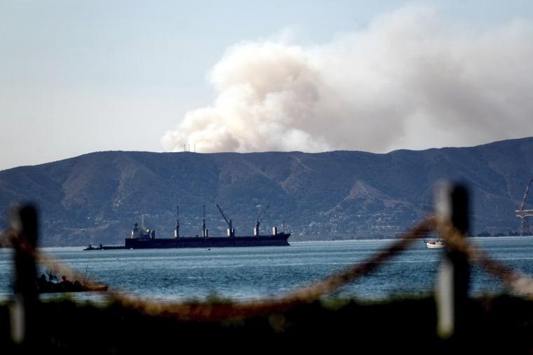 Image: San Francisco fires
