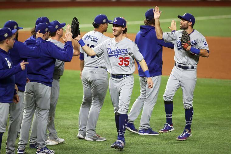 Image: MLB: World Series-Los Angeles Dodgers at Tampa Bay Rays