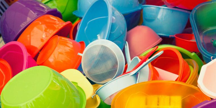 Colorful plastics