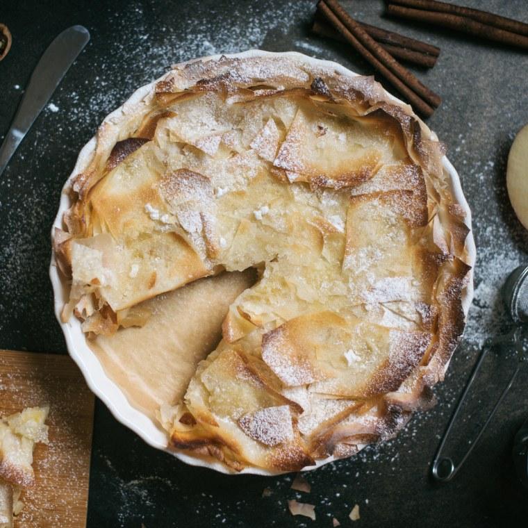 Homemade Crunchy Apple Pie