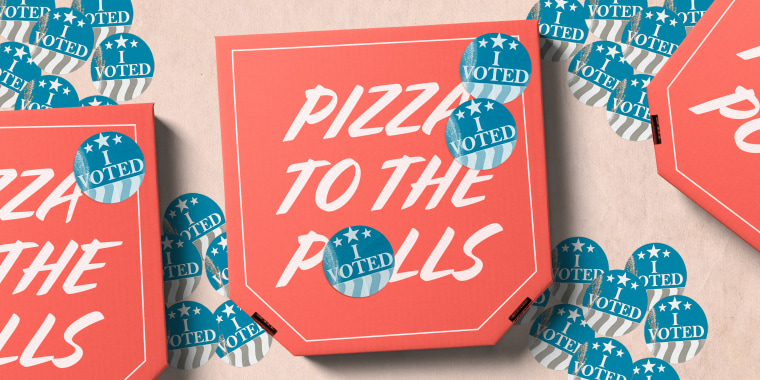 "Pizza to the Polls was initially founded in 2016, but the response this year has been ""overwhelming"" compared to that election."