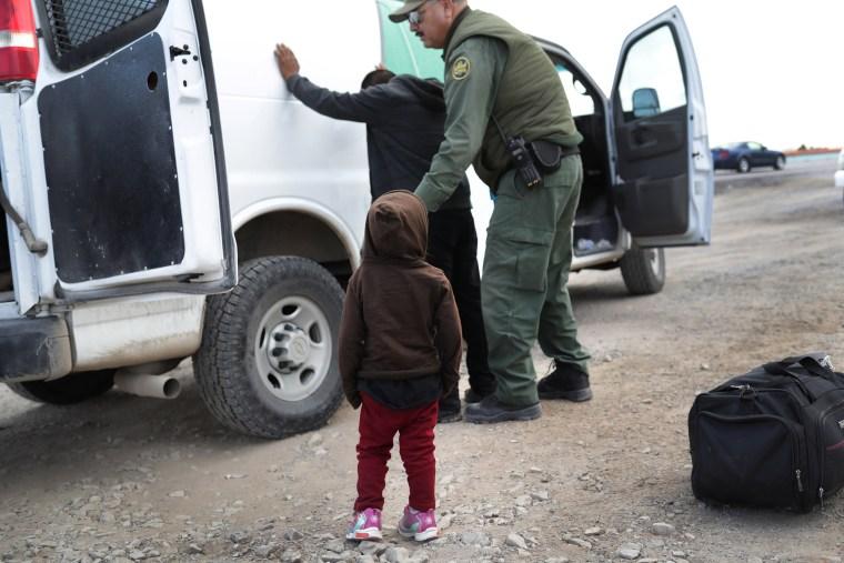 Image: Customs And Border Patrol Agents Patrol Border In El Paso, TX