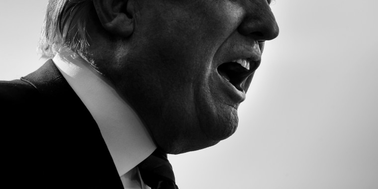 Image: President Donald Trump speaks to reporters outside of the White House on June 8, 2018.