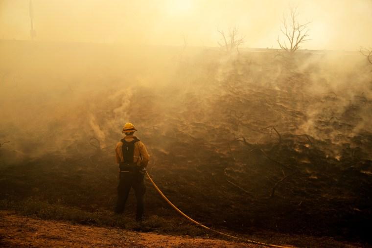 Image: Silverado Fire in California