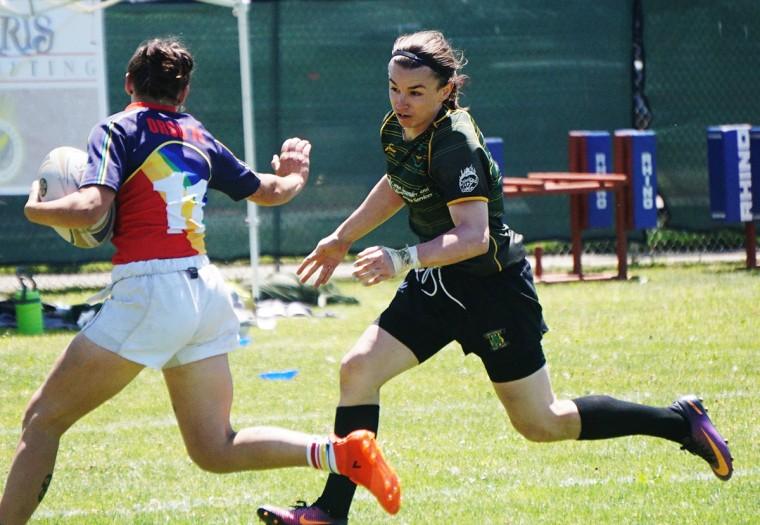 Rugby player Grace McKenzie.