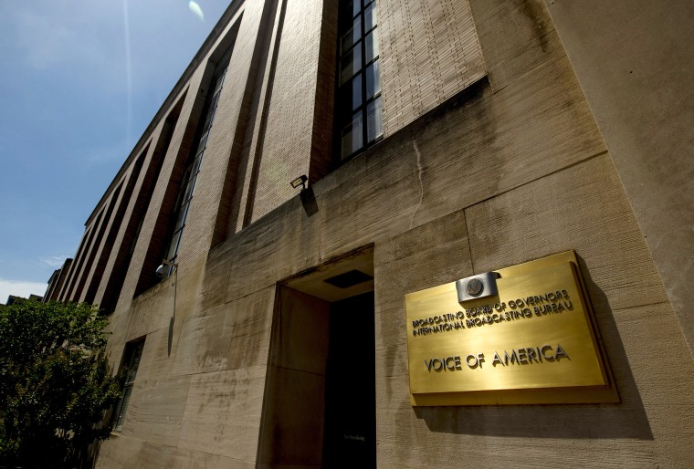 Image: Voice of America building