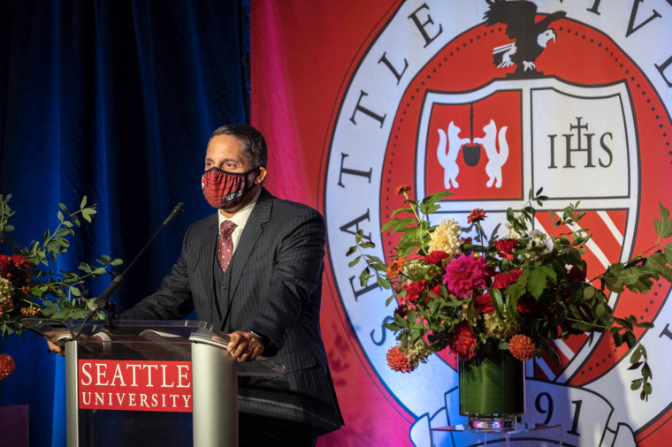 Eduardo M. Peñalver, JD, who will become the 22nd president of Seattle University, on Oct. 22, 2020.