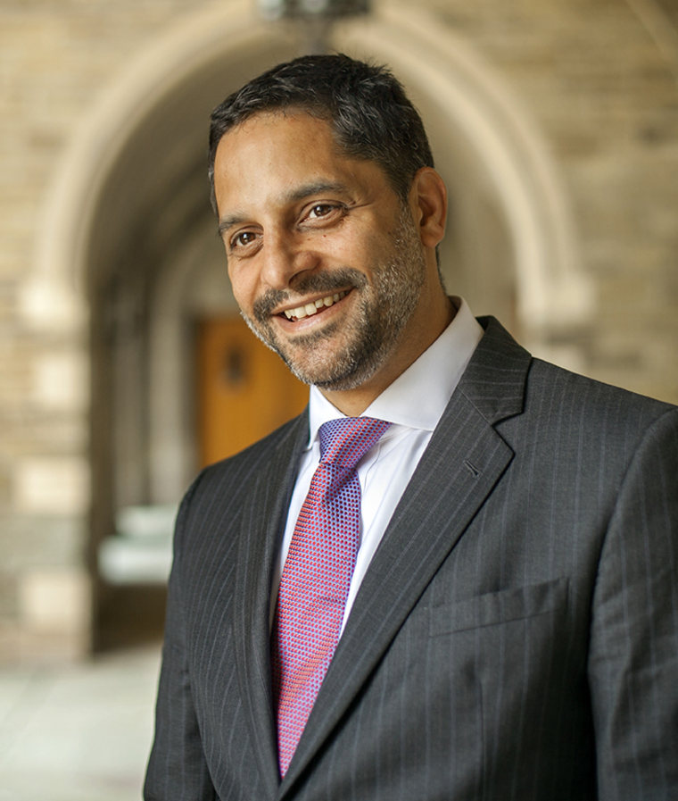 Eduardo Penalver when he was dean of the Law School (LAW) at Cornell University.