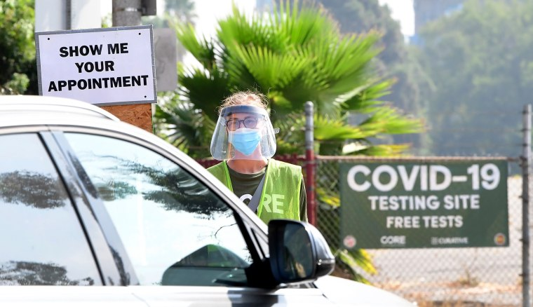 Image: US-HEALTH-VIRUS-TESTING