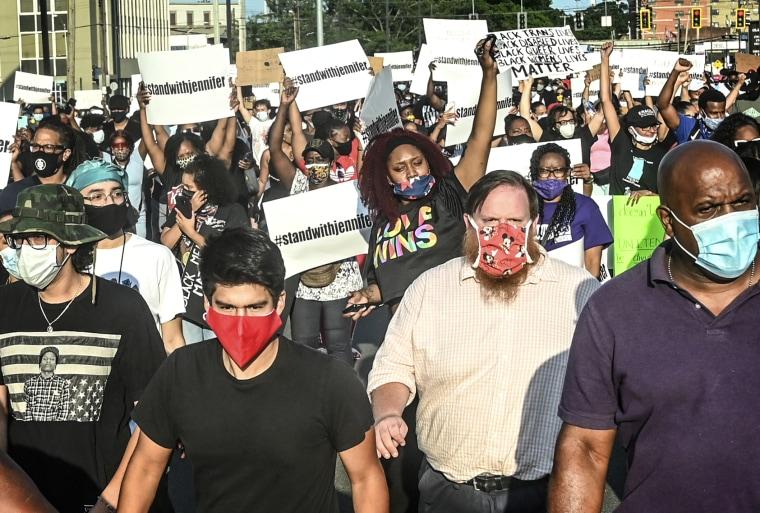 IMAGE: Protest in Long Island, N.Y.