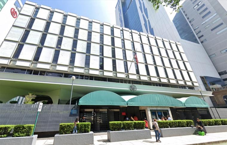 Image: US Embassy, Mexico City