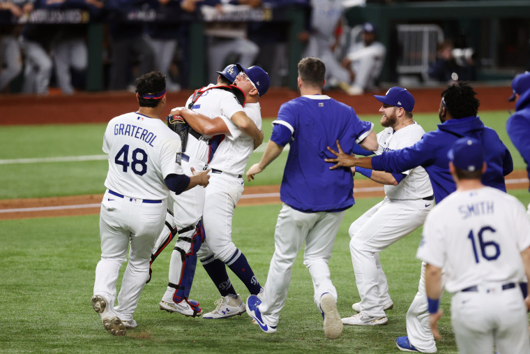 Image: World Series - Tampa Bay Rays v Los Angeles Dodgers  - Game Six