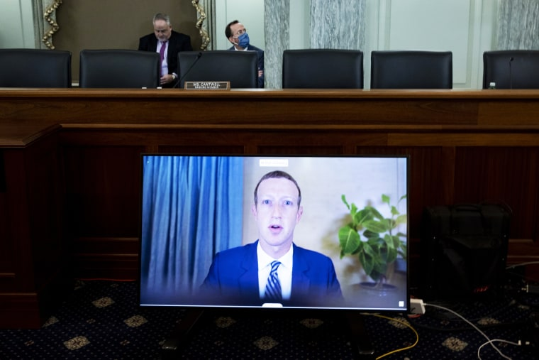 Image: Big Tech CEO's Testify Before Senate On Section 230 Immunity