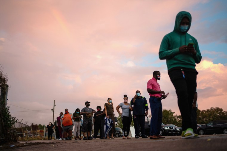 Image: Early voting ends in Louisiana