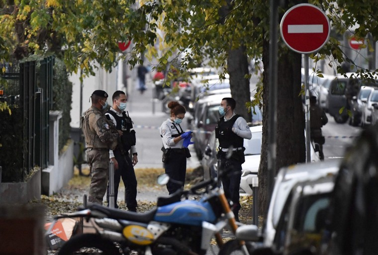 Image: Lyon armed attack