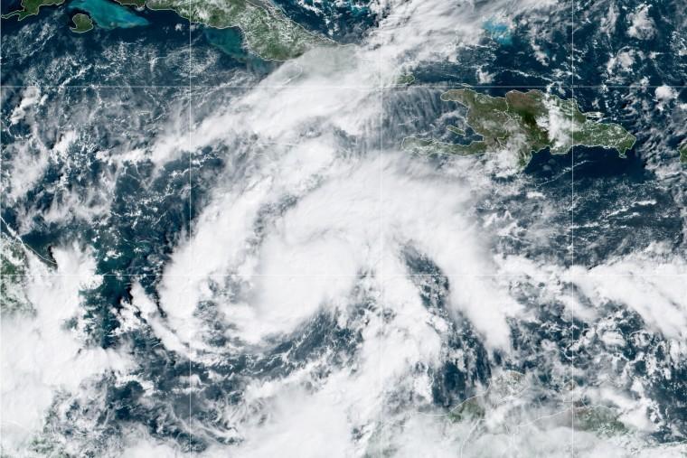 Tropical Storm Eta.
