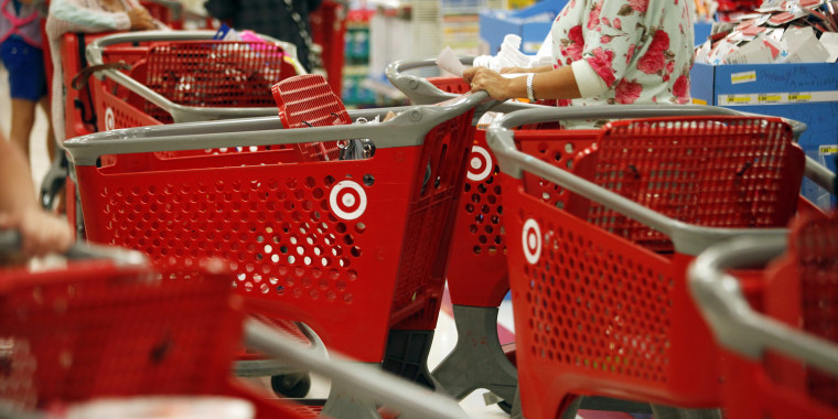 Shoppers At Target Corp. Ahead Of Earnings Report