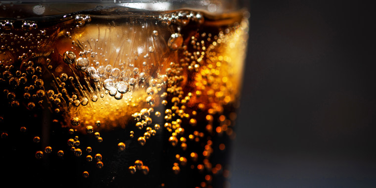 A new study suggests artificially-sweetened beverages may not be a healthy substitute for sugary drinks.
