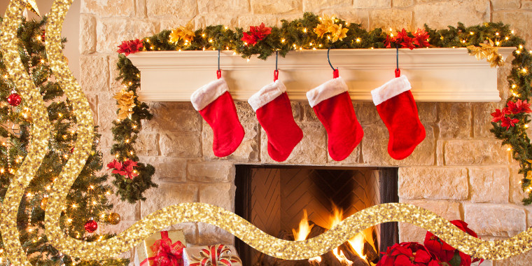 These customized stockings will look good in any home.