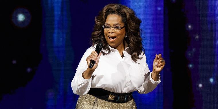 Oprah Speaks At Rogers Arena