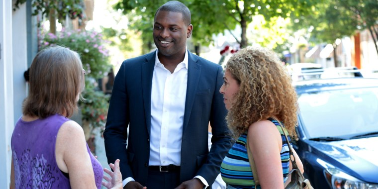 Mondaire Jones was elected to the House in New York's 17th Congressional District.