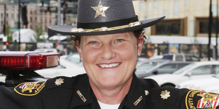 Charmaine McGuffey will be the first LGBTQ person and first woman to serve as sheriff of Hamilton County, Ohio.