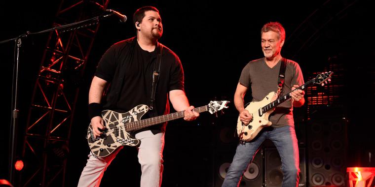 Van Halen Performs at Jones Beach Theater