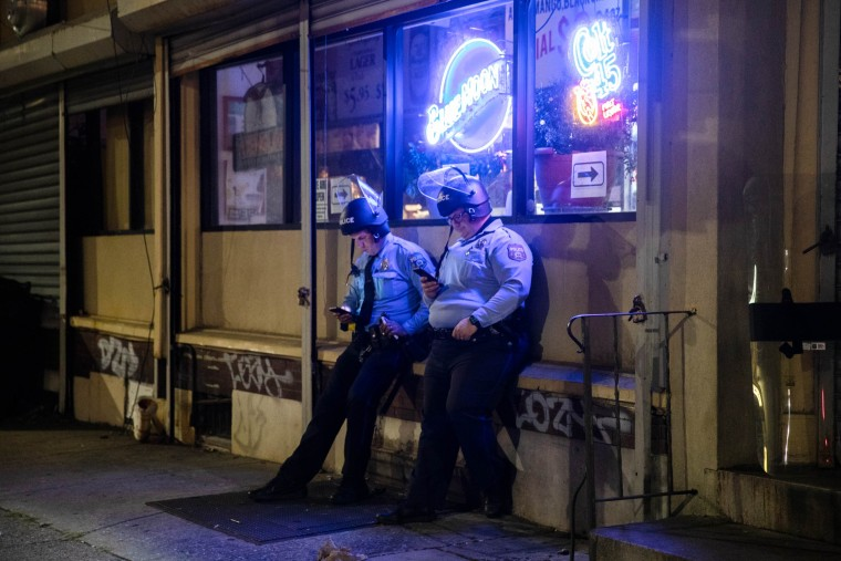 Image: TOPSHOT-US-POLITICS-UNREST-RACISM-POLICE