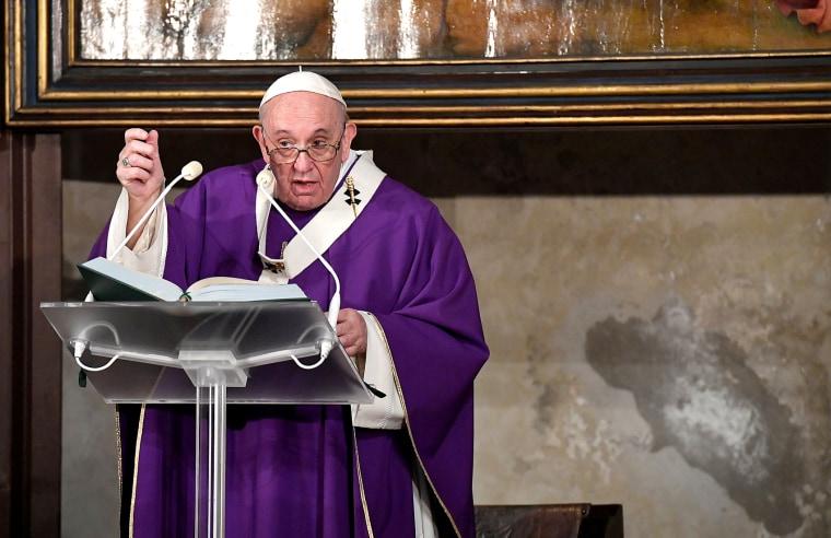 Image: VATICAN-POPE-MASS
