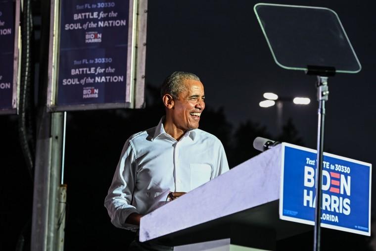 Image: US-VOTE-BIDEN-OBAMA
