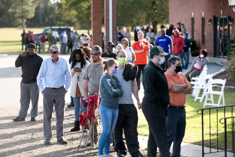 Image: Across The U.S. Voters Flock To The Polls On Election Day