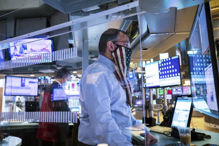 The New York Stock Exchange trading floor on Nov. 4.