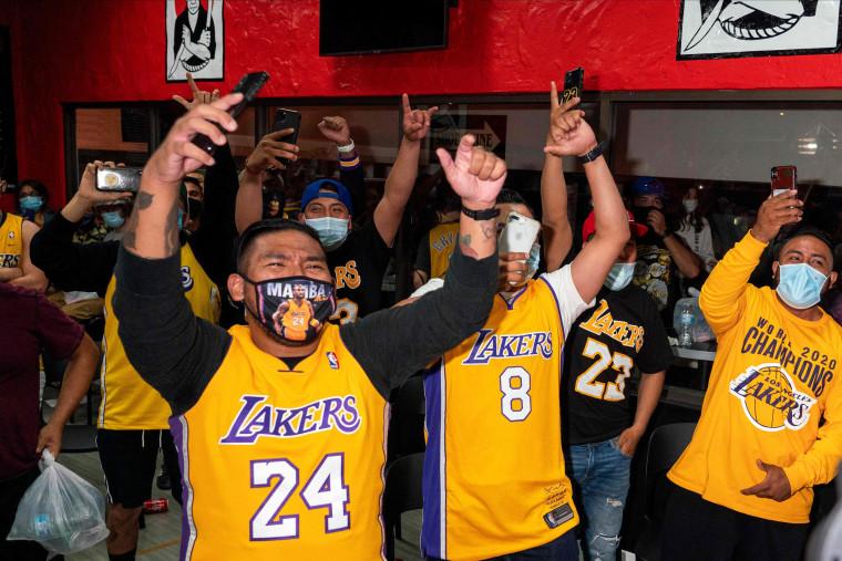 Image: TOPSHOT-BASKET-NBA-FINALS