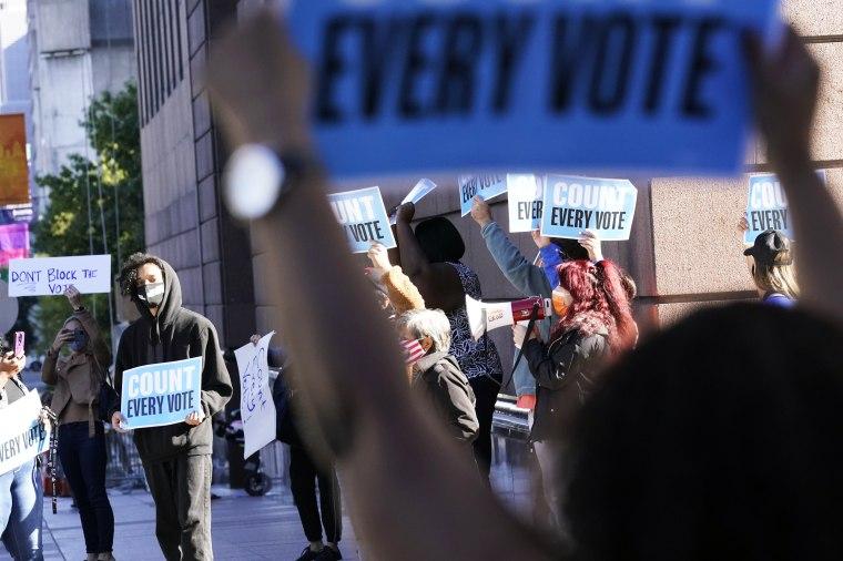 Image: Demonstrators