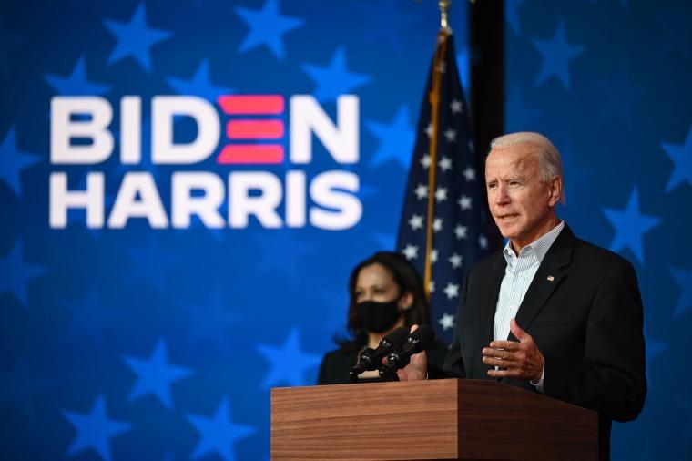 Image: Joe Biden and Kamala Harris