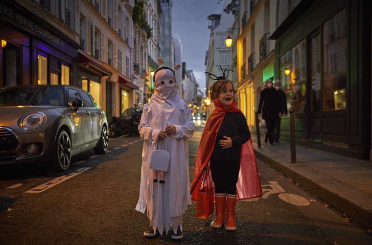 Image: Halloween Celebrations Amid Covid-19 Lockdown